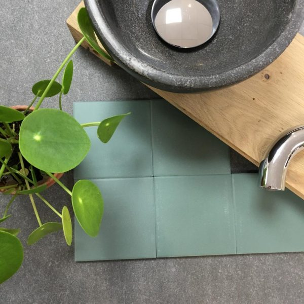 TCR 18 Groen 10x10cm