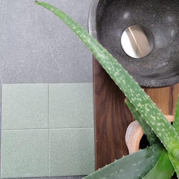 TCR 22 Salt & Pepper Groen 10x10cm