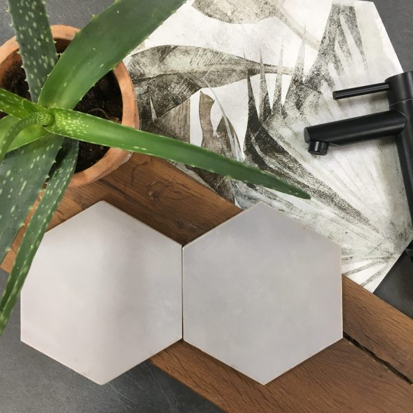 Nomade Grey Hexagon 13.9x16cm